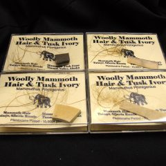 Woolly Mammoth Hair & Ivory Sets