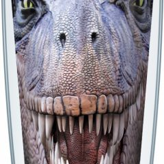 Tyrannosaurus Dinosaur Tumbler Made In The USA with Life Time Guarantee