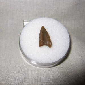 Prehistoric Mesolithic Curved Base Point from Niger North Africa