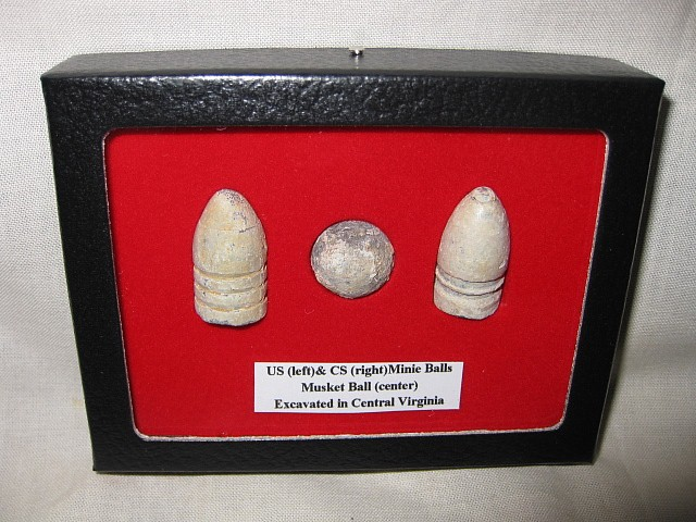 Genuine Civil War Bullet Collection From Virginia