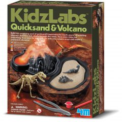 Kids Lab Quicksand & Volcano Kit
