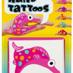 "Sea Life ""Tattoo"" Hand Puppets"
