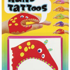 "Monster ""Tattoo"" Hand Puppets"