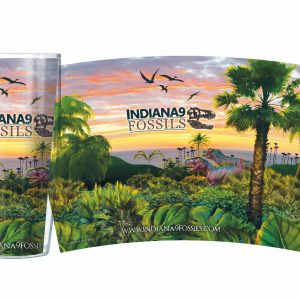 Tropical Jungle Dinosaur Souvenir Tumbler